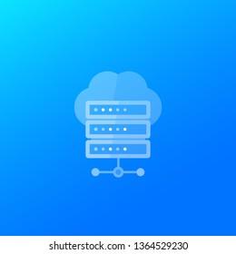 hosting or server icon