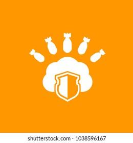 Hosting under DDoS Attack icon