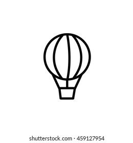 Hot Air Balloon Outline Icon