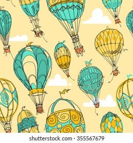 Hot Air Balloon Parade in Color