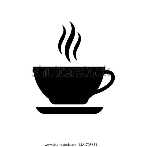 Hot Coffee Cup Vector Icon Isolated Stock Vector (Royalty Free ...