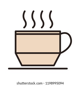 Hot coffeee cup