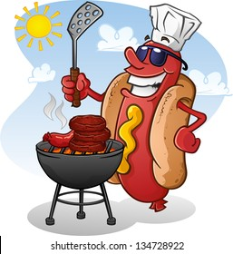 cartoon bbq images stock photos vectors shutterstock
