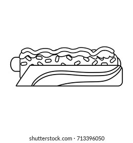 hot dog fast food icon image