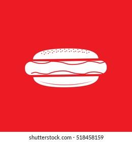 hot dog Icon Vector Illustration