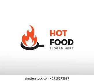 hot food logo food logo fire logo hot griell