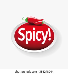 Hot jalapeno or chili vector
