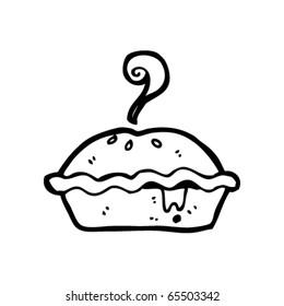 hot pie cartoon