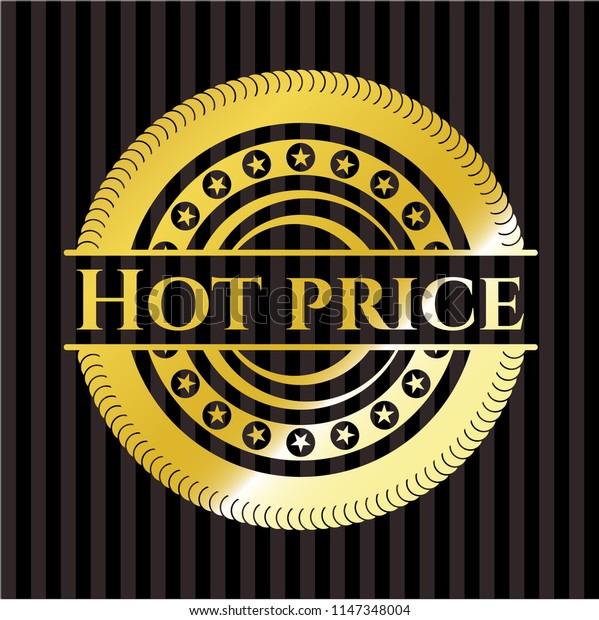 Hot Price gold shiny emblem