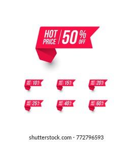 Hot Price Shopping Price Tag