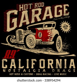 hot rod garage california,hotrods car,old school car,vintage car