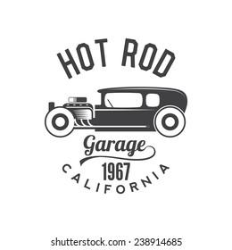 hot rod engine images stock photos vectors shutterstock 1951 Ford Rat Rod hot rod retro emblem