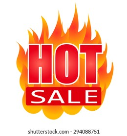 hot sale tag with fire