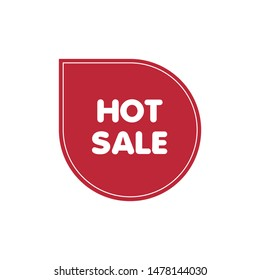 Hot sale tag - Vector format