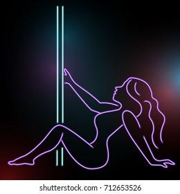 Hot Sexy Girl Neon Sign