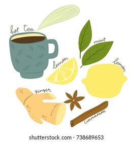 hot tea winth ginger