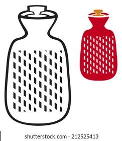 hot water bottle (bag)