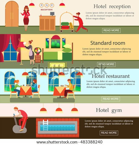 Hotel Welcome Banners Distance Education Banners