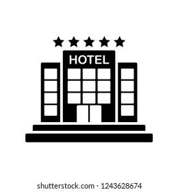 hotel icon glyph