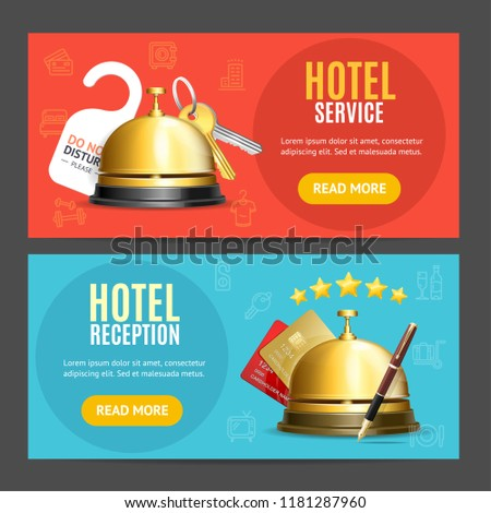Hotel Welcome Banners Tote Bag Banners