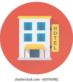Hotel Vector Icon