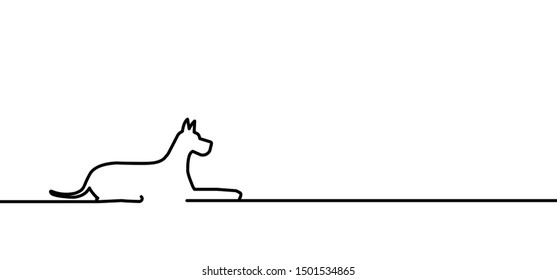 Hound puppy dog dogs pet pets silhouette steps toy bone bones footsteps foot feet paw woof vector icon icons sig signs fun funny emotions emotion humorsarcasm line pattern drawing draw love oneline
