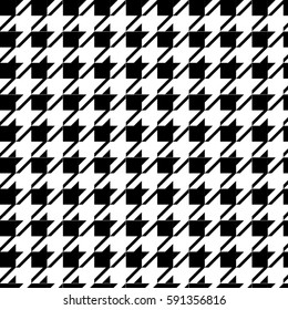 Houndstooth trend patern background texture.