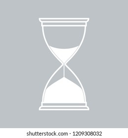 Hourglass flat icon
