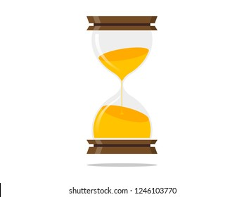 Hourglass Icon illustration Vector