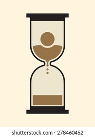 Hourglass: time is unavoidably running out for the mortal human