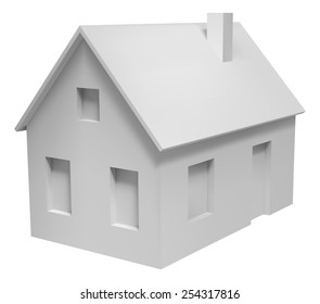 Imágenes Fotos De Stock Y Vectores Sobre Simple House Model