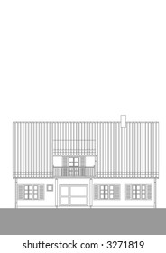 house architecture elevetion