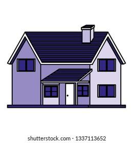 house building facade icon