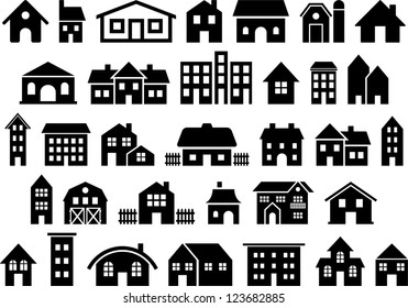 House & Building icons