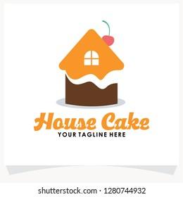 Cake House Logo Images Stock Photos Vectors Shutterstock