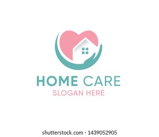 House Care logo Template, Medical House Logo