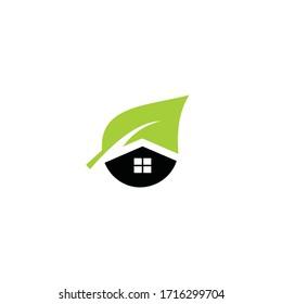 House care,house logo,home logo,eco,green,vector logo template