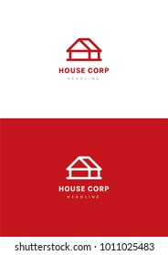 House corporation logo template.