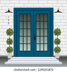 House Cartoon Porch Images, Stock Photos & Vectors