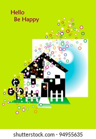 house  happy