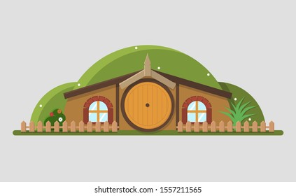 Сozy house for the hobbit