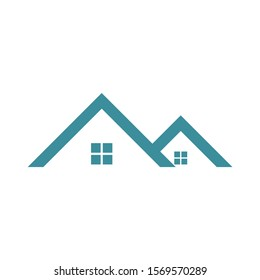 House and home building logo and symbol template ilustration