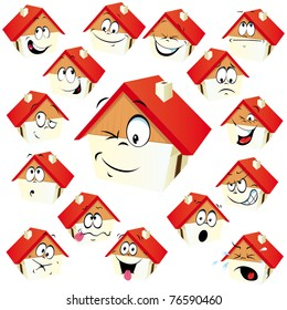 house icon with many expressions