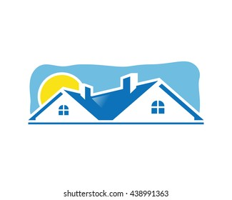 House icon or real estate logo
