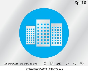 house, icon, vector illustration eps10
