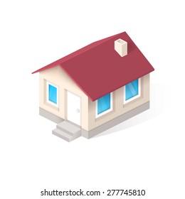 House isometric vector icon