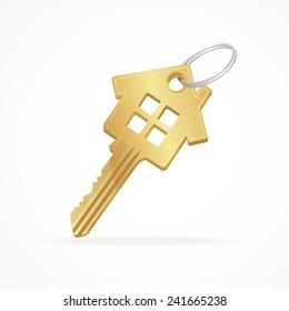 gold house key. Gold House Key. Delighful For Key