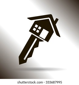 house key vector icon