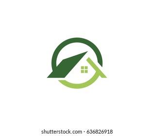 Imágenes, fotos de stock y vectores sobre Real Estate House Logo