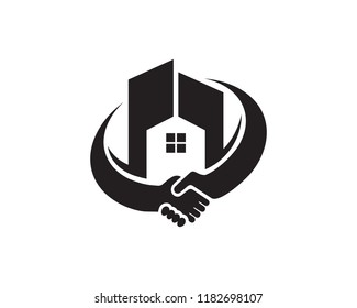 House Logo Symbol Template Design Vector, Emblem, Design Concept, Creative Symbol, Icon